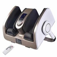 Electric Foot Massage Machine 360° Adjustable with Heat Shiatsu Roller Vibration