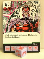 Dice Masters - 1x #060 Magneto the House of M-X-MEN FIRST CLASS