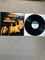 THE SPINNERS TEN OF THE BEST WITH THE SPINNERS RECORDS VINYL LP FONTANA SFXL51