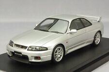 HPI 8386 Nissan Skyline R33 GT-R V-Spec Sonic Silver 1/43 model GTR R32 R34 JDM