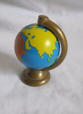 FISHER PRICE Loving Family Dollhouse WORLD GLOBE ATLAS MAP Office Doll Toy Spins