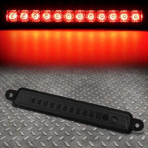 FOR 05-15 NISSAN ARMADA INFINITI QX56 LED THIRD 3RD TAIL BRAKE LIGHT LAMP SMOKED