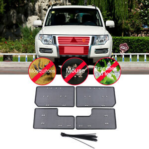 For Mitsubishi Pajero V80 2010-2020 Accessories Front Grille Insect Net Screen