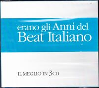 3 CD ♪ Box Cofanetto BEAT ITALIANO • IL MEGLIO • THE BEST I SUCCESSI AAVV nuovo