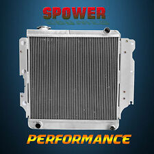 3 Row Aluminum Radiator For Jeep Wrangler YJ TJ LJ RHD Only MT Manual 1987-2006