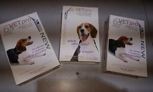 Lot de trois thermometre digital pour chien 6s VETPRO