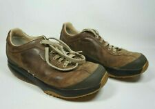 MBT Tembea Brown Leather Toning Rocker Walking Shoes 400126-55 Men's Size 11