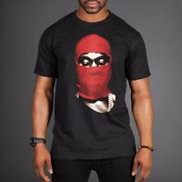 Yeezus Tour Red Ski Mask Concert Kanye West T shirt