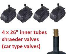 26 INCH INNER TUBE TUBES 1.75 - 2.125  MOUNTAIN BIKE X4  !!  4 INNER TUBES
