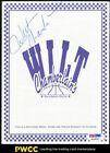 Wilt Chamberlain SIGNED AUTOGRAPHED AUTO Menu PSA/DNA LOA