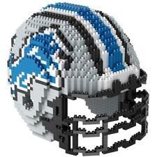 NFL DETROIT LIONS 3D BRXLZ Puzzle Helm Helmet Set Football Footballhelm