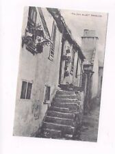 """BERMUDA antique db post card """"Tin Can Alley"""" View"""