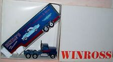 1989 Binkles Classic Cars 3rd Ed-Drop Bed Winross Diecast Delivery Trailer Truck