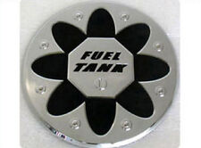 Chrome Fuel Gas Cap Cover Emblem 1p For 2007-2009 Kia Rondo : Carens