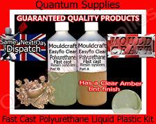 Easyflo Transparente - 250ml rápido Fundido poliuretano líquido Kit plástico