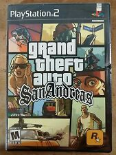 Grand Theft Auto: San Andreas GTA PS2 original Black Label Factory Sealed NEW
