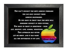 Steve Jobs Quote 3 Trust In Something Poster Motivational Inspirational Photo