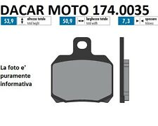 174.0035 PASTILLA DE FRENO ORIGINAL POLINI MBK THUNDER 150 Carburador