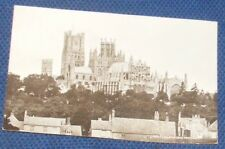 ELY CATHEDRAL FROM SOUTH EAST 1924 POSTCARD