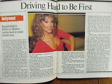 1984 TV Guide(REBECCA HOLDEN/RICHARD LESTER/KIM MIYORI/GREMLINS/CANADIAN EDITION
