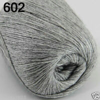 NEW Luxurious Soft 50g Mongolian Pure 100% Cashmere Hand Knitting Wool Yarn 602