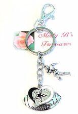 Key Chain, Purse Charm, Nfl Dallas Cowboys Handmade