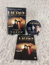 Hero Dvd Movie Quentin Tarantino Jet Li Tony Leung Ka Fai 2004