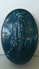 Franklin Tile Co. 50th Anniversary commemorative paperweight Rare hard to find!