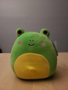 "Squishmallows Kellytoy 2020 8"" Wendy the Frog *RARE* NWT"