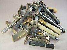 BROKEN JUNK LOT OF VINTAGE GILLETTE & SCHICK SAFETY RAZORS FOR PARTS.