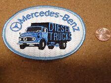 Vintage  Mercedes Benz Diesel Trucks Patch New Old Stock