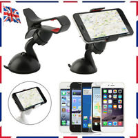 360°Car Holder Windshield Mount Bracket for Cell Phone iPhone Samsung GPS UK DD