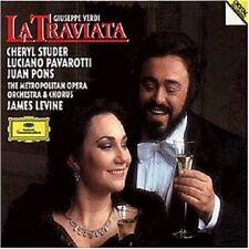 STUDER/PAVAROTTI/LEVINE/MOO - LA TRAVIATA (GA) 2 CD NEU
