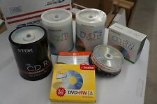 Large Media Value Pack 200 CDs, 100 DVDs and More
