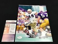 MARC EDWARDS NOTRE DAME FIGHTING IRISH SIGNED 8X10 PHOTO JSA COA V45458 SMUDGE