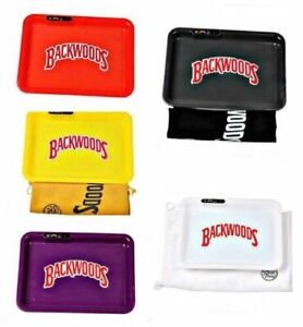 BACKWOODS Glow LED Light up Rechargeable Smoking Rolling Tray CHEAPEST ALL COLOR