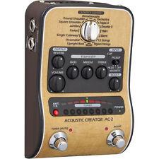 Like N E W Zoom AC2 Acoustic Creator Enhanced Direct Box Opened Box Never Used!