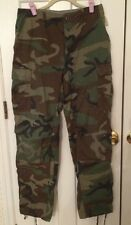 Woodland Camouflage US Army Trousers Combat Pants Small Medium USGI Military BDU