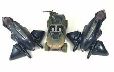 Halo Reach Microsoft XBOX McFarlane Speeders Warthog Vehicle R/C No Remote Lot 3