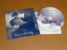 Elvis' 2010 Rare EPE Graceland Promo CD to Fan Club Presidents, Insert, Mint