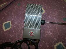 Beautiful Vintage 1940's RCA 74B Junior Velocity Ribbon Microphone Working Fine!