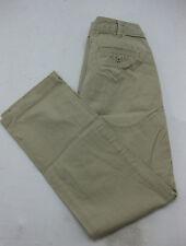 Copper Key Juniors Womens 5 Khaki Tan Full Length Pants Cute Straight Leg EUC