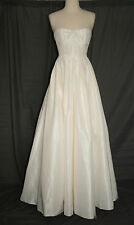 J.CREW MARLIE GOWN SIZE 6 IVORY RETAIL $1800 A9925