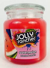 1X NEW Jolly Rancher Theme Watermelon Scented Candle 14.75 Oz Limited, Glass Jar