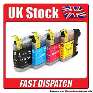 BLACK / MAGENTA / YELLOW / CYAN Brother LC127 / 125  Ink Cartridges For Printers