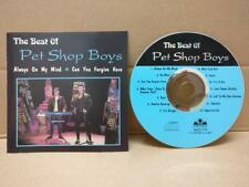 Pet Shop Boys On Cover Only Mega Rare Singapore CD FCS8859