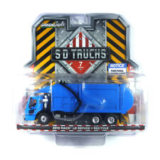 Greenlight 45070-C Mack LR Refuse + Recycle Blue SD Trucks Scale 1:64 New !°