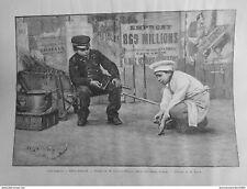 1891 MI0808 MOLTO PRESSATO QUADRO CHOCARNE MOREAU SALON CAMPI ELYSÉES BAMBINI