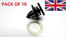 10PCS VAUXHALL INTERIOR DOOR CARD &TRIM PANEL MOUNTING/FASTENER CLIPS