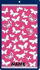 "30"" x 60"" Name Embroidered Beach / Pool Towel With Multiple Butterflies Design"